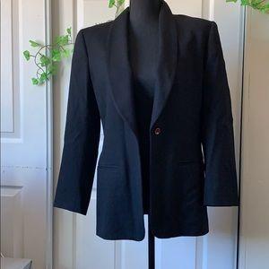 🍁🍁 3/25 Liz Claiborne black petit blazer